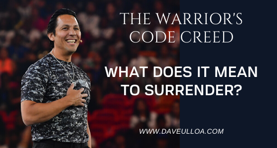 What Warriors Ought to Know About Surrendering